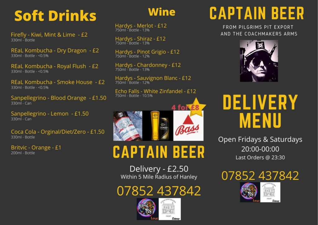 Drinks Delivery service in Stoke on Trent